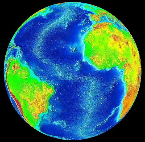 Спрединг дна океанов и глобальные изменения климата